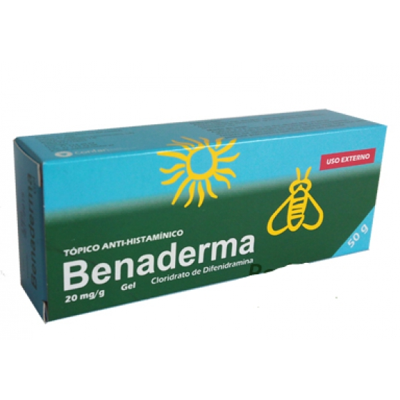 BENADERMA GEL 2% 50 G