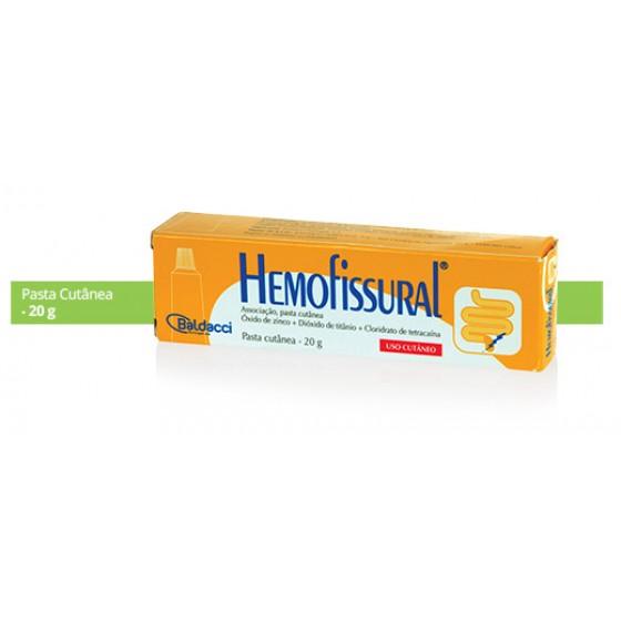 HEMOFISSURAL PASTA 20 G