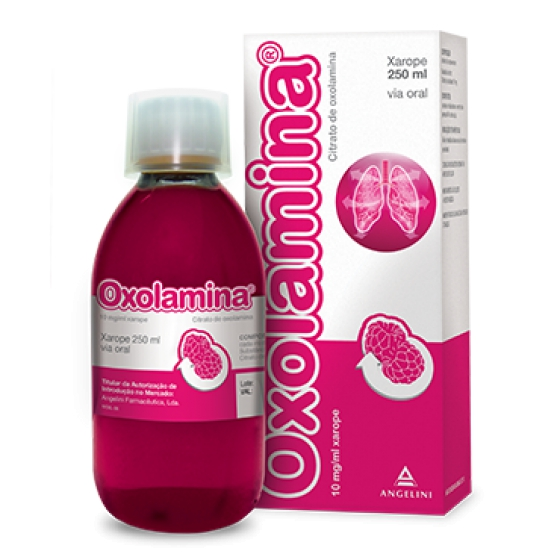 OXOLAMINA XAR 50 MG/5 ML 250 ML