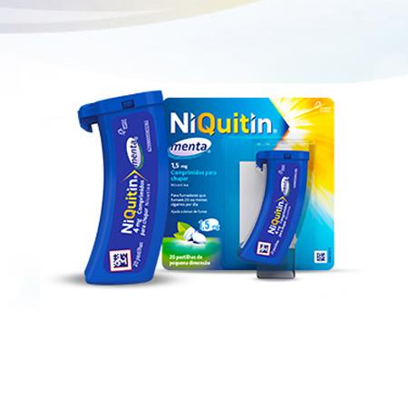 NIQUITIN MENTA COMP CHUPAR 4 MG X 20