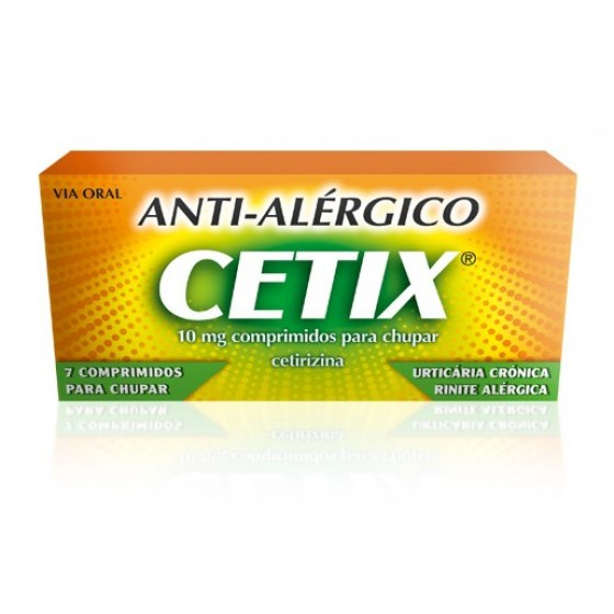 CETIX 10 MG COMP  CHUPAR  - 7