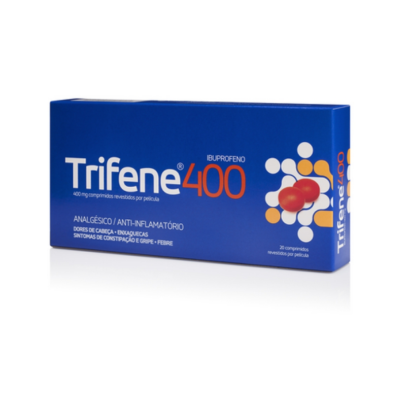 TRIFENE 400 400 MG COMP REV    - 20