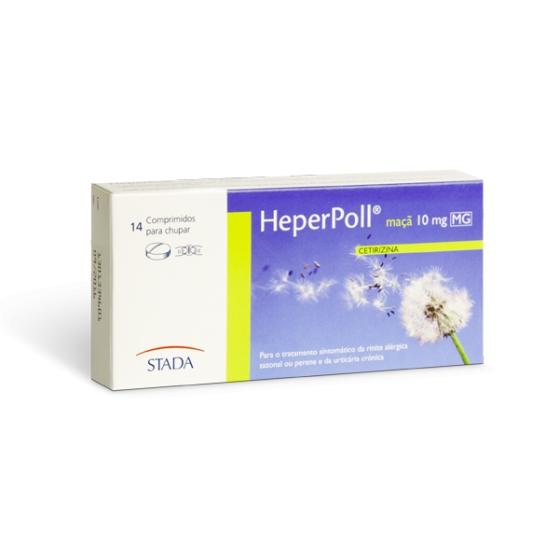 CETIRIZINA HEPERPOLL 10MG 14COMP