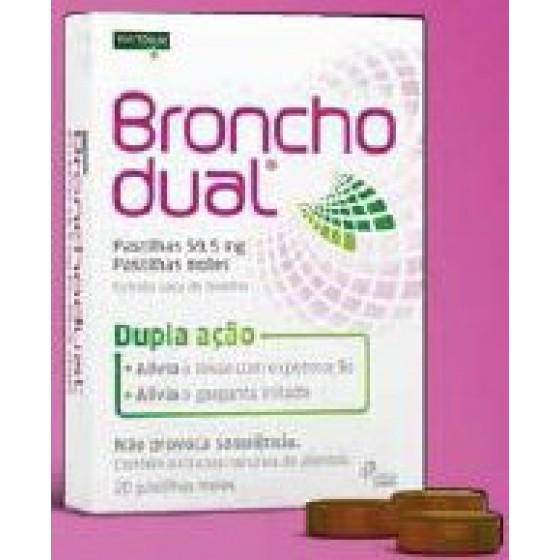 BRONCHODUAL PASTILHAS 59,5 MG PASTILHA MOLE  - 20
