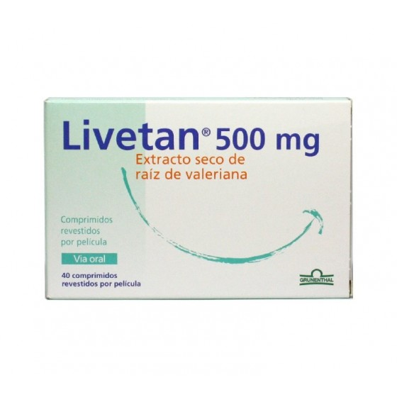 LIVETAN COMP REV 500 MG X 20
