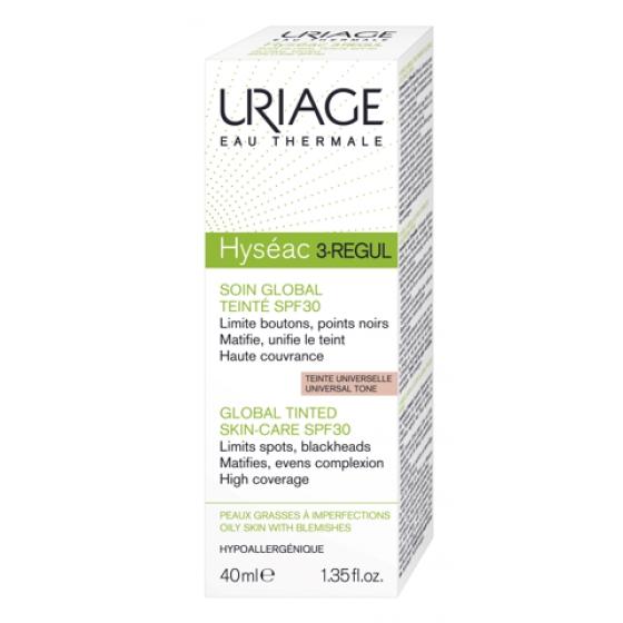 URIAGE HYSEAC  3-REGUL TEINT SPF30 40ML