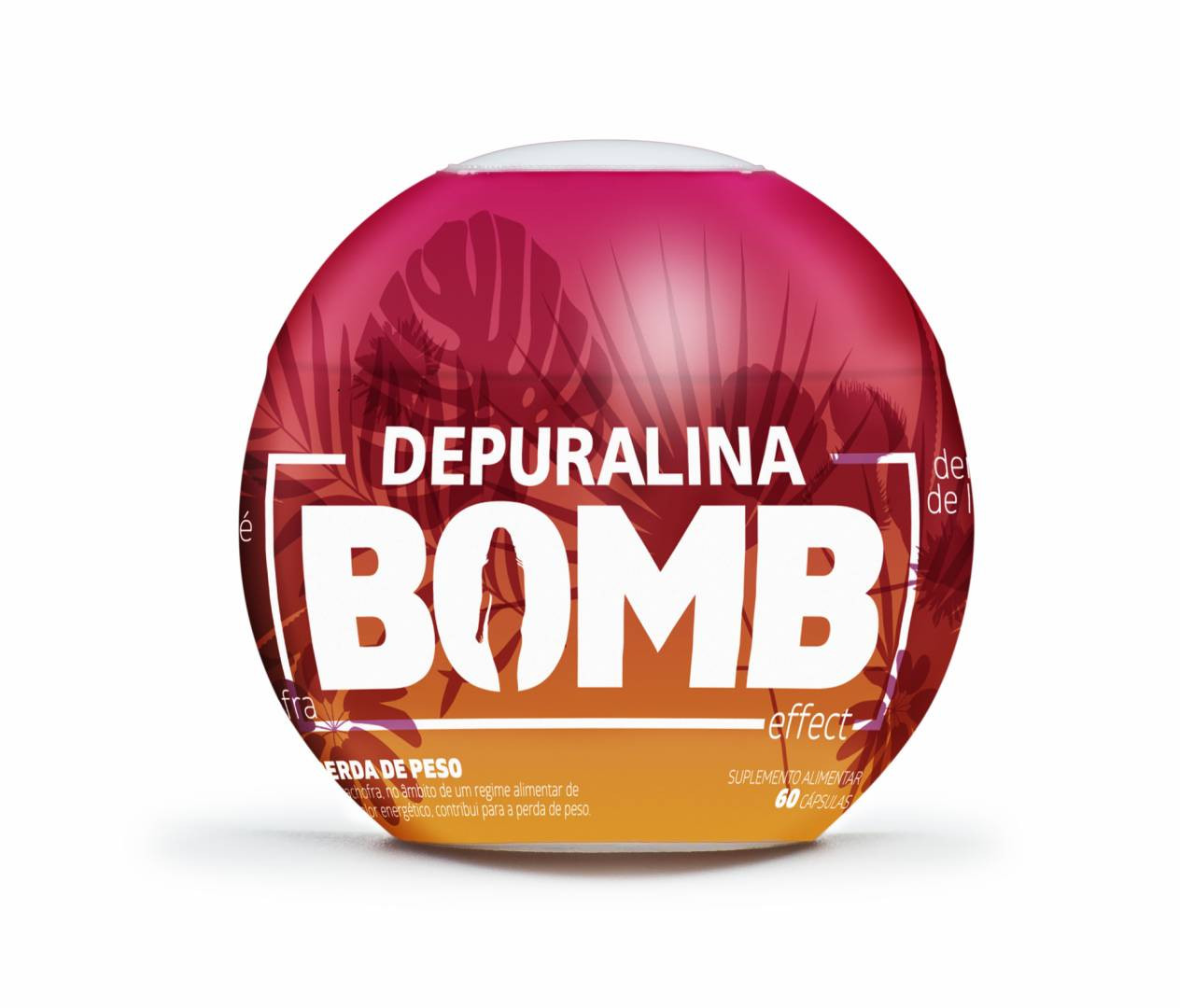 DEPURALINA BOMBEFFECT CAPS X60 BOLA