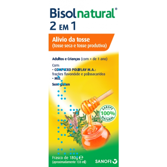 BISOLNATURAL  XAROPE 133 ML