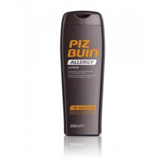 PIZ BUIN FPS 15 LEITE SOLAR ALLERGY 200ML