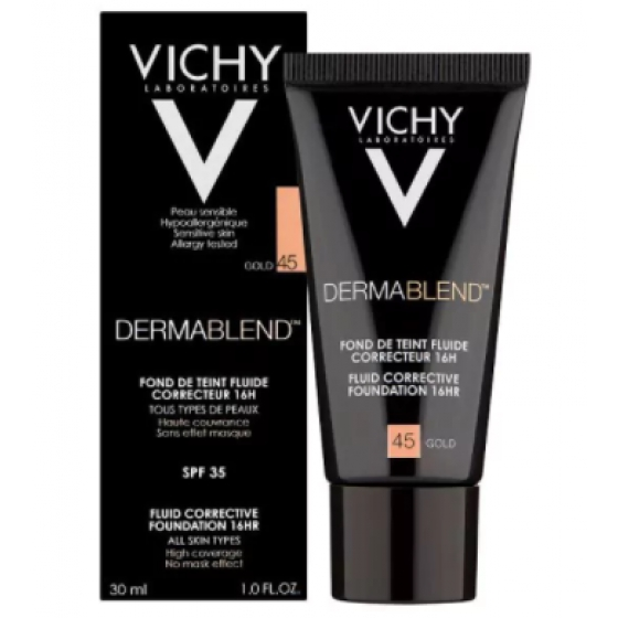 VICHY MAQUILHAGEM DERMABLEND FOND T 45