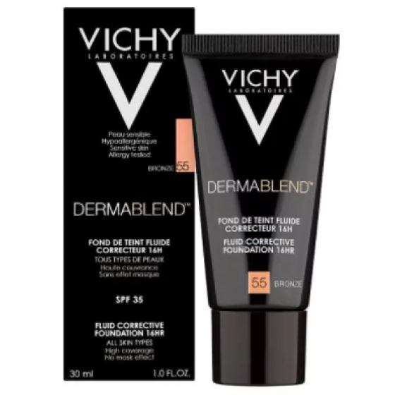 VICHY MAQUILHAGEM DERMABLEND FOND T 55