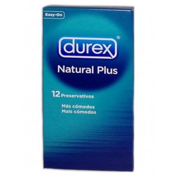 DUREX NATURAL PRESERVATIVO EASY ON X 3