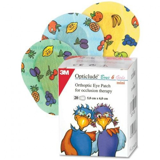 OPTICLUDE BOYS GI PENSO OFT MINI 2537PE X30