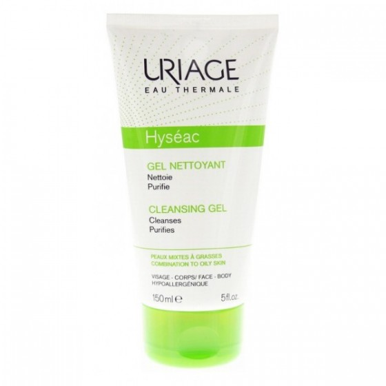 URIAGE HYSEAC GEL LIMP SUAVE 150 ML