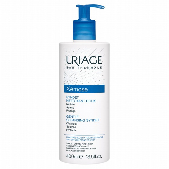 URIAGE XEMOSE CR LIMP SYNDET 400 ML