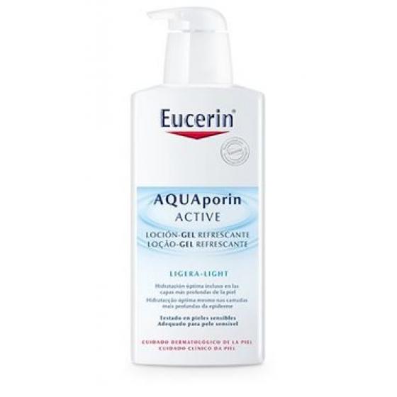 EUCERIN AQUAPORIN LOCAO GEL REFRESC 400 ML