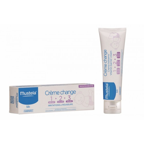 MUSTELA BEBE CR FRALDA 1,2,3 100ML