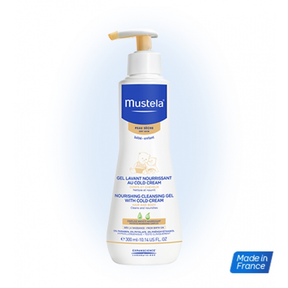 MUSTELA BEBE GEL LAV COLD CREAM 300ML