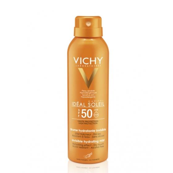 VICHY CAP SOL HYDRAMIST FPS50 200ML