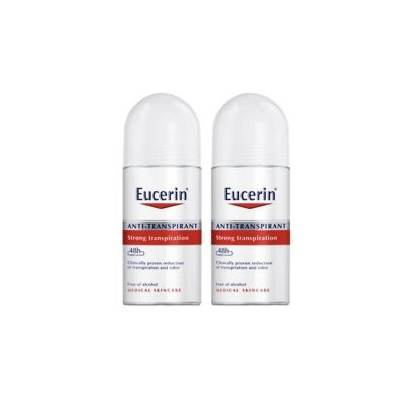 EUCERIN PROMO ANT TRANSP 48H FORT 50ML+OFT