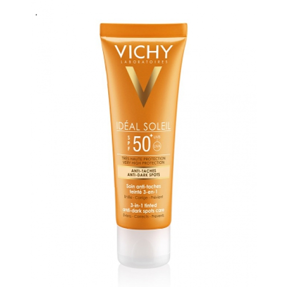 VICHY IDEAL SOLEI CR ANTIMANCHAS FP50 50ML