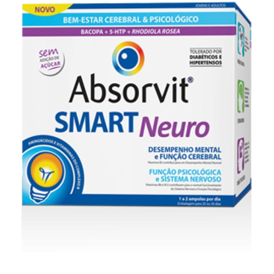 ABSORVIT SMART NEURO AMP 10ML X 30