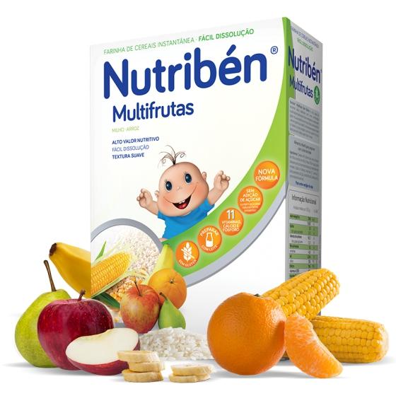 NUTRIBEN FARINHAS MULTIFRUTAS S/ACUCAR 300G