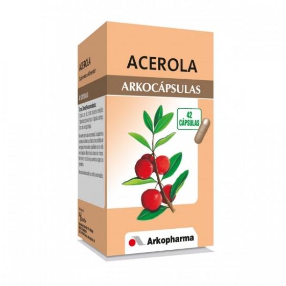 ARKOCAPSULAS CAPS ACEROLA X 42