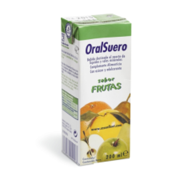 ORALSUERO SOL OR 200 ML X 3 FRUTAS