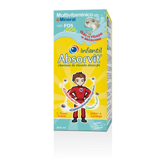 ABSORVIT INFANTIL XAROPE OLEO FIG BAC 300ML
