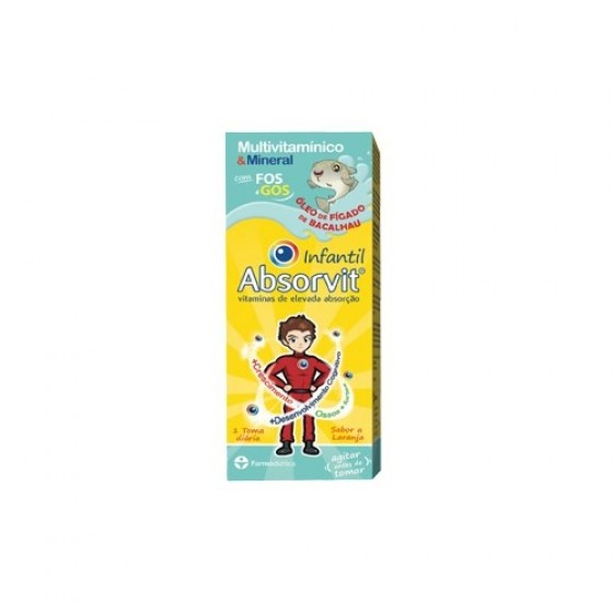 ABSORVIT INFANTIL XAROPE OLEO FIG BAC 150ML