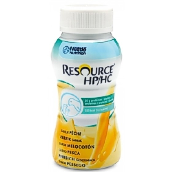 Resource Hp/Hc Sol Or Baunilha 200 Ml X4