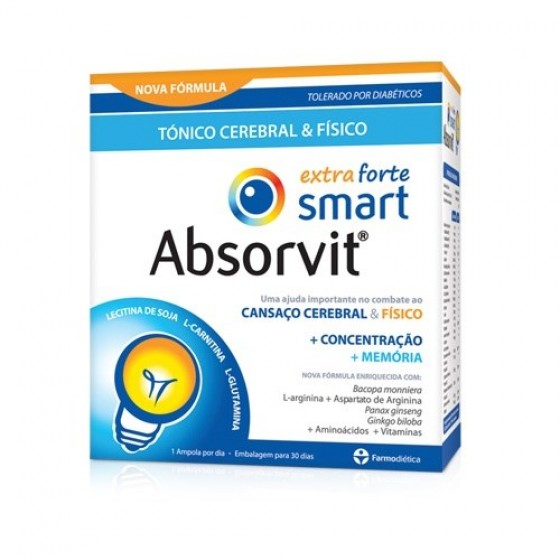ABSORVIT SMART AMP EXTRA FORTE 10ML X 20