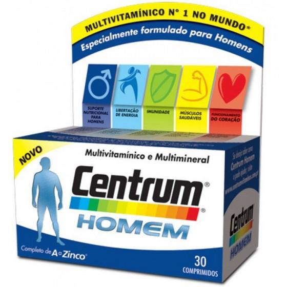 CENTRUM HOMEM COMP X 30