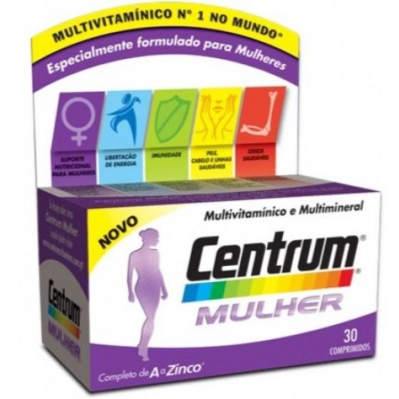 CENTRUM MULHER COMP X 30