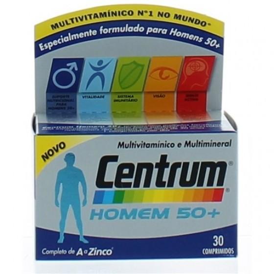 CENTRUM HOMEM 50+ COMP X 30