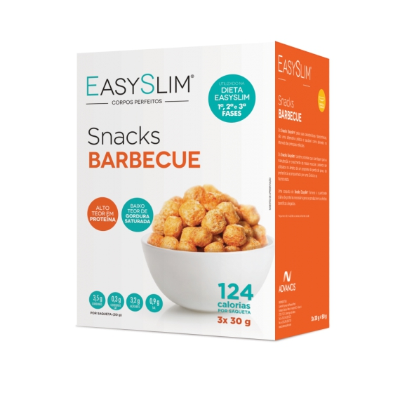 EASYSLIM SNACKS BARBECUE 30GX3