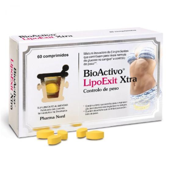 BIOACTIVO LIPOEXIT XTRA 60 COMP