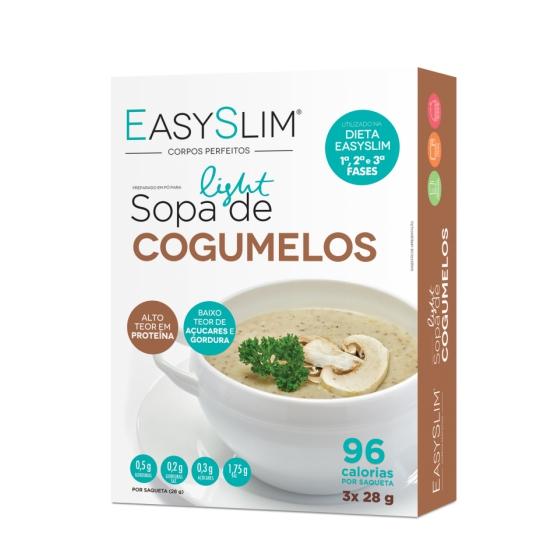 EASYSLIM SOPA DE COGUMELOS X 3