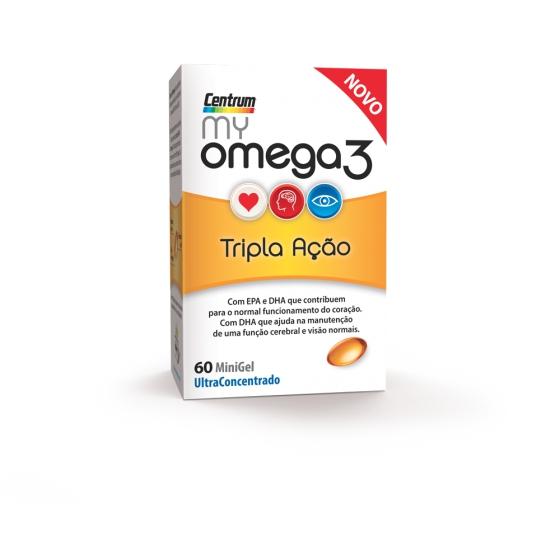 CENTRUM MY OMEGA 3 60 CAPS