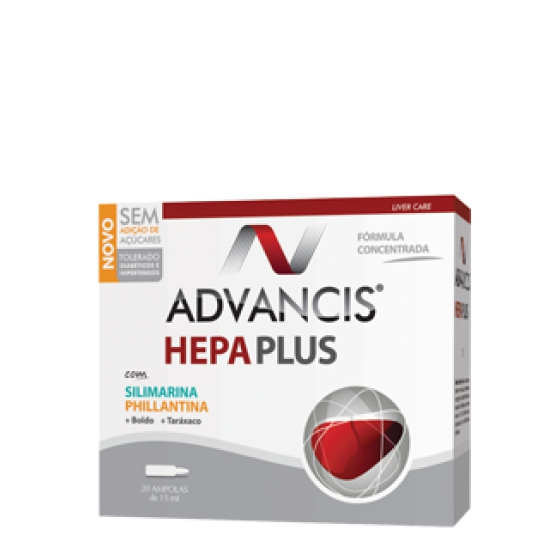 ADVANCIS HEPA  PLUS AMP 15ML X 20