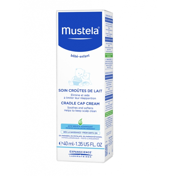 MUSTELA BEBE CUID CR CROSTA LACTEA 40ML