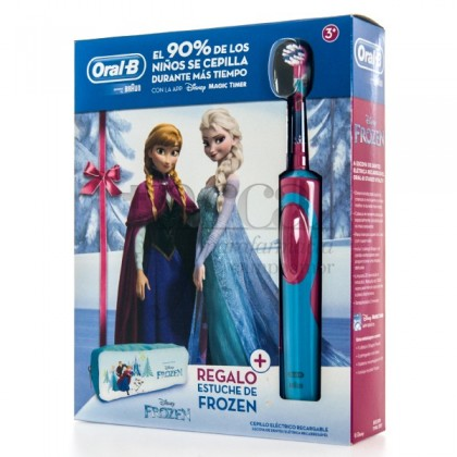 ORAL B STAG POWERESC DENT ELEC FROZE+ESTOJ