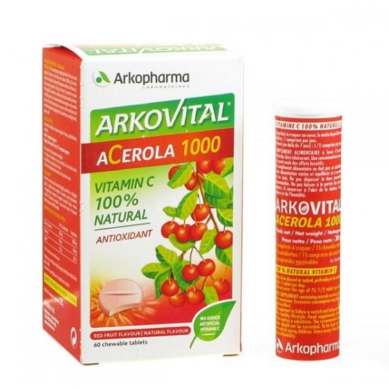 ARKOVITAL ACEROLA 1000, COMP X15