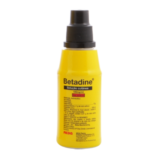 BETADINE DERMICO SOL TOP 10% 125 ML