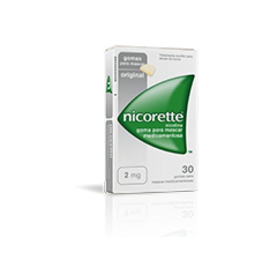 NICORETTE GOMA CLASSICA 2 MG X 30