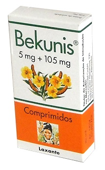 BEKUNIS 5 MG + 105 MG COMP REV - 20