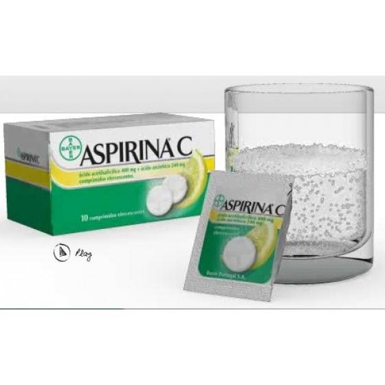 ASPIRINA C COMP EF X 10