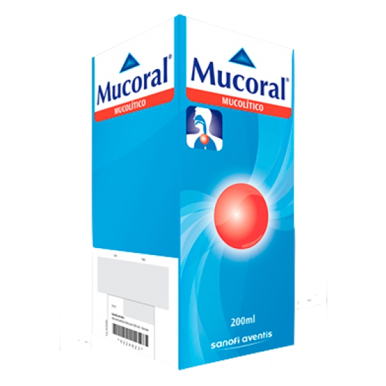 MUCORAL XAR INF 100 MG/5 ML 200ML