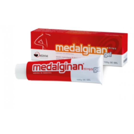 MEDALGINAN GEL 100 G